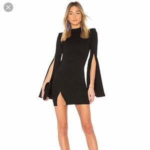 Michael CostelloxREVOLVE mr. Gibson dress in black